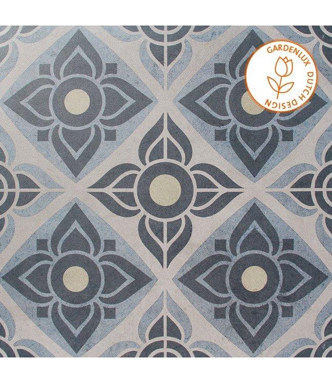 Cera3line Lux & Dutch 60x60x3 cm Select Decor Blue
