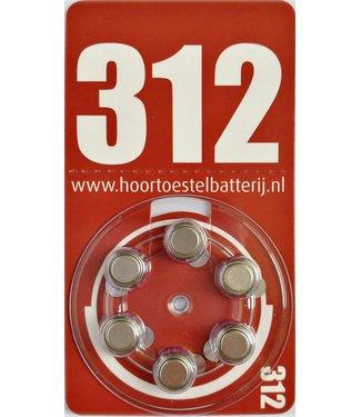 HoortoestelBatterij.nl Huismerk 312
