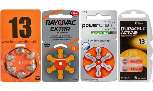 13 in de oranje verpakking PR 48