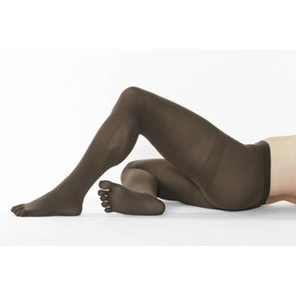 5-TOES.COM COLOUR-Tights, 110 DEN in: Brown