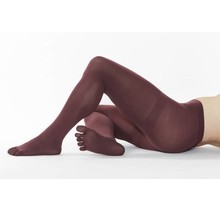 COLOUR-Tights, 110 DEN in: Wine Red
