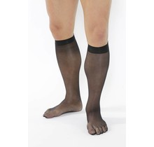 EXTRA-Fine Tights Knee-High, 19 DEN in: Black