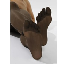 COLOUR-Tights, 50 DEN in: Brown
