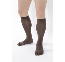 COLOUR-Tights Knee-High, 80 DEN in: Brown