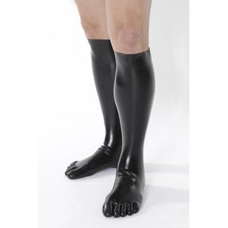 5-TOES.COM Latex Toe-Socks in Black