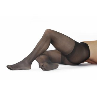 5-TOES.COM EXTRA Fine-Tights, 17 DEN in: Black