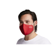 Viroblock +Multi Hi-Tech waschbare Maske in rot (2 Stück in OVP)