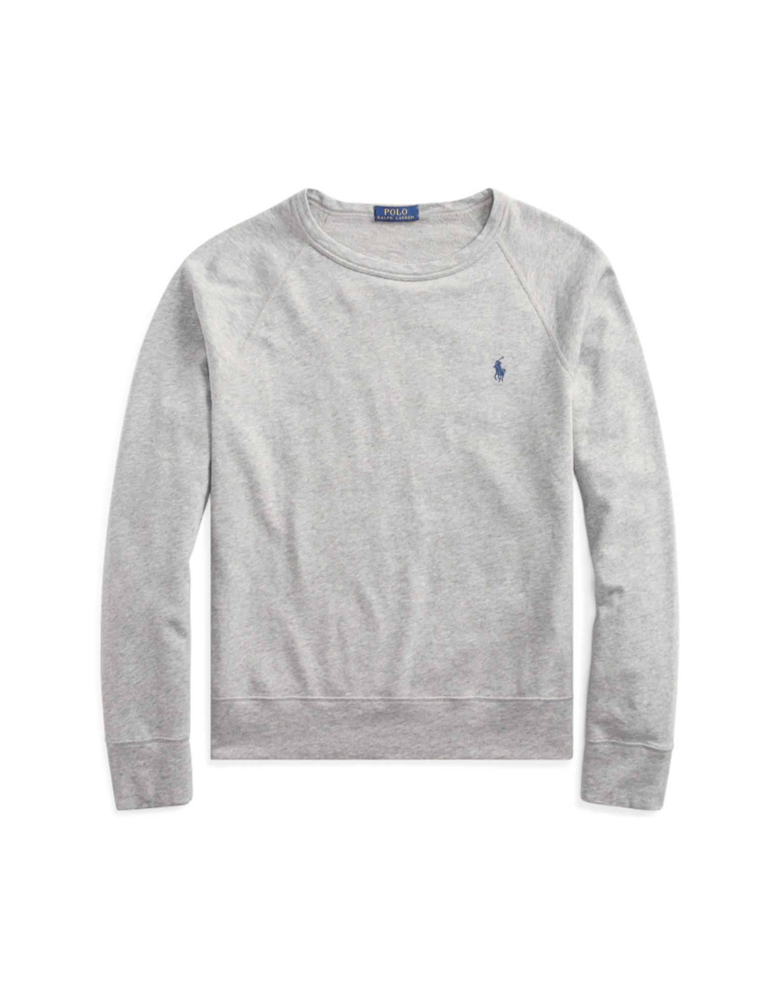 Ralph Lauren Sweater grijs katoen