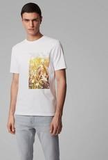Boss Men Casual T-shirt Wit