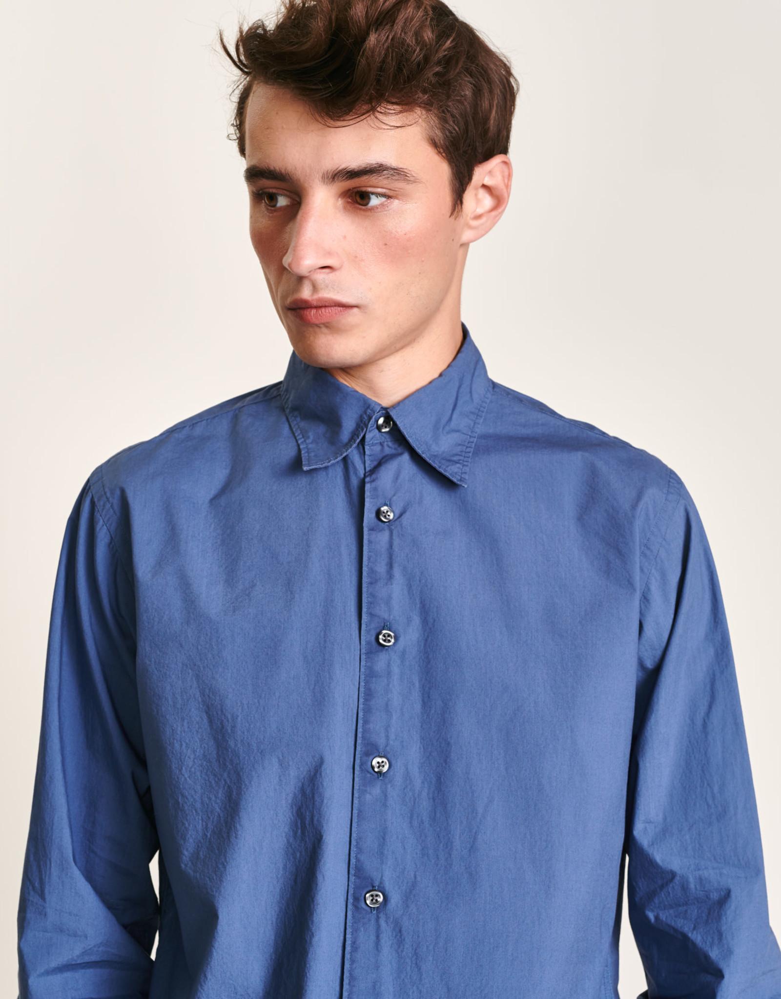 Bellerose Hemd Regular Fit Blauw