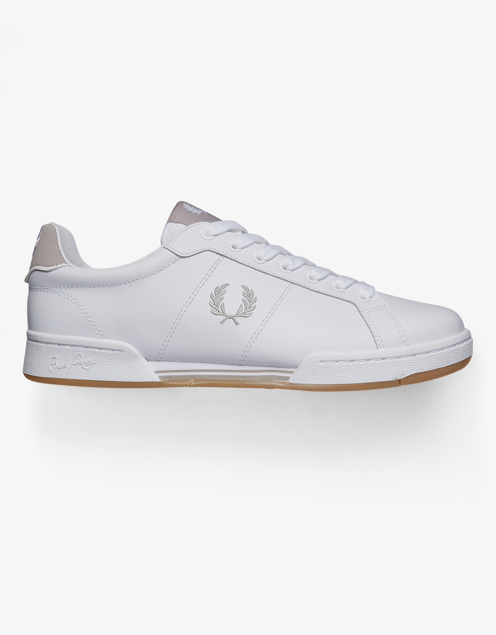 Fred Perry Tennis Sneaker Wit