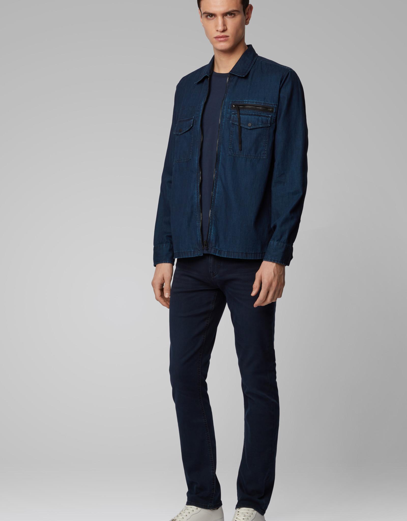 Boss Men Casual jeans donkerblauw jersey