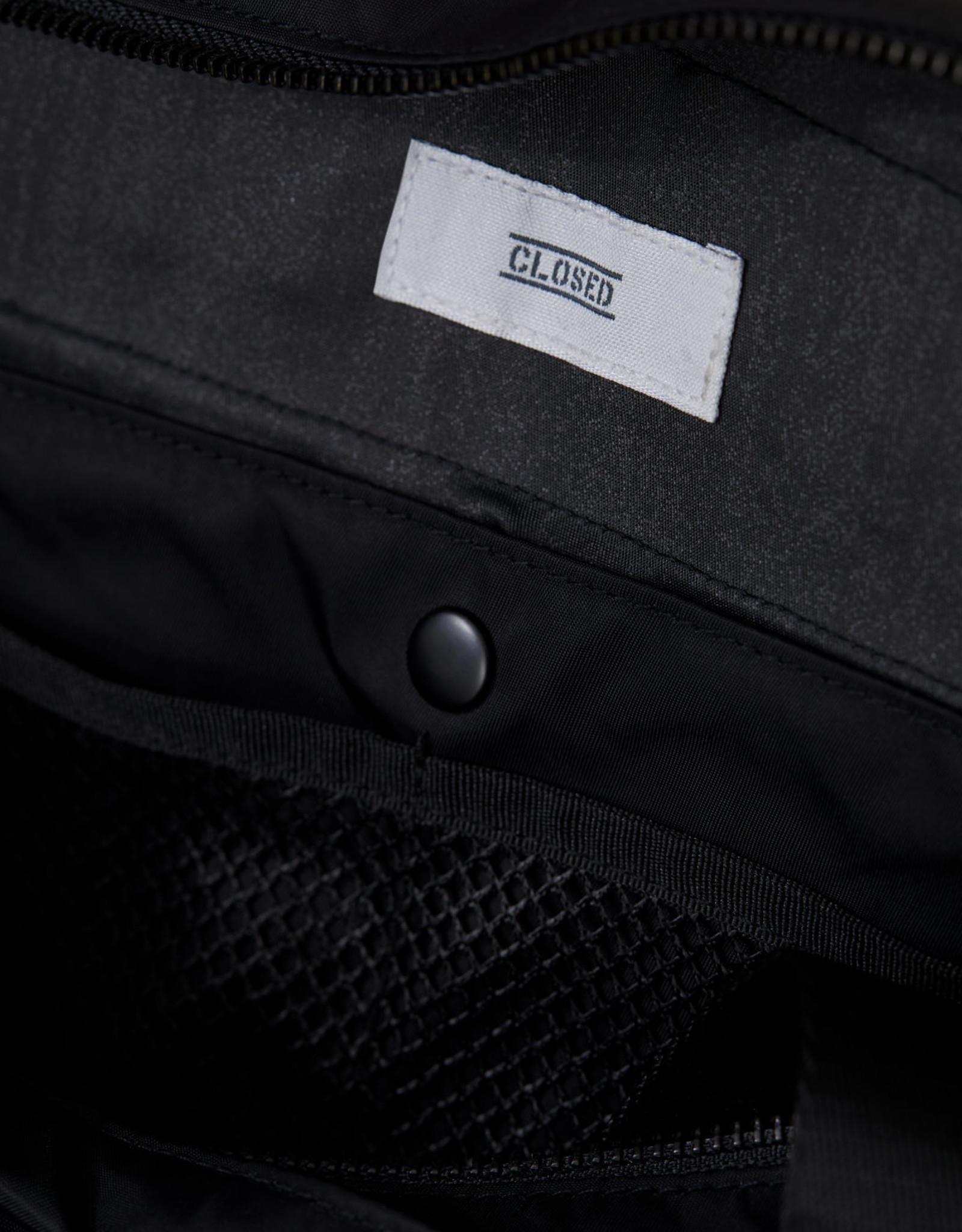 Closed Tas nylon zwart