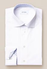 Eton Hemd poplin wit Eton