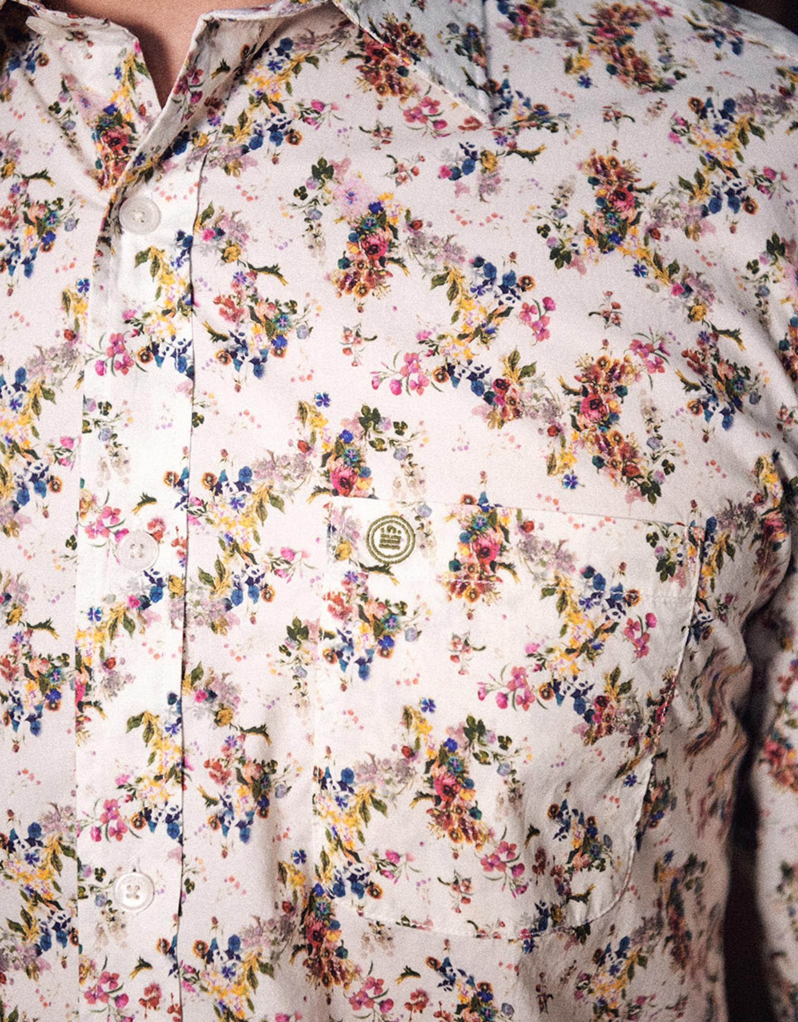 Serge Blanco Hemd met bloem print van Serge Blanco