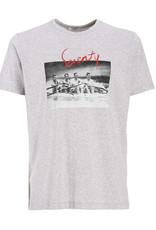 Seventy T-shirt foto grijs Seventy