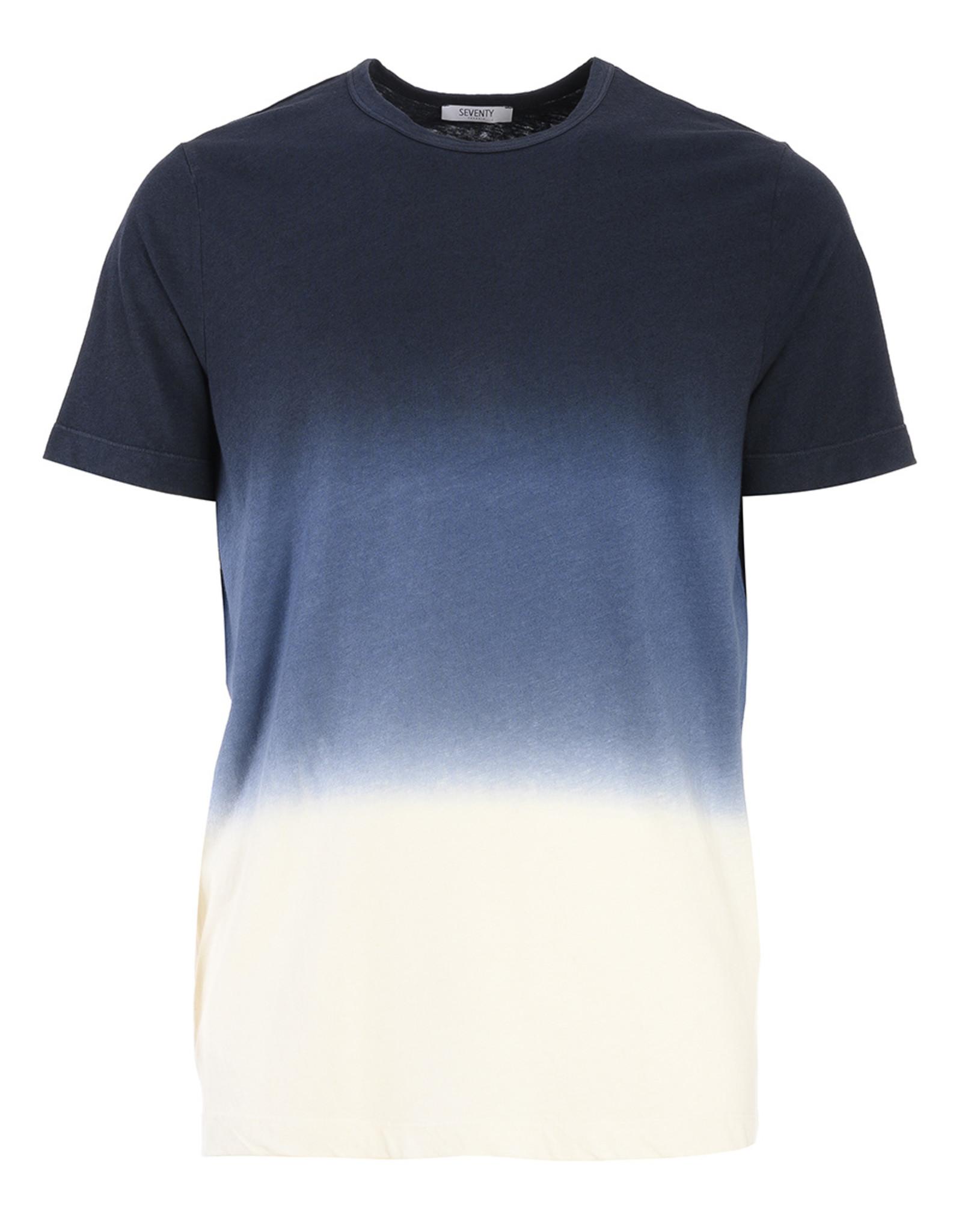 Seventy T-shirt Délavé Multicolor.