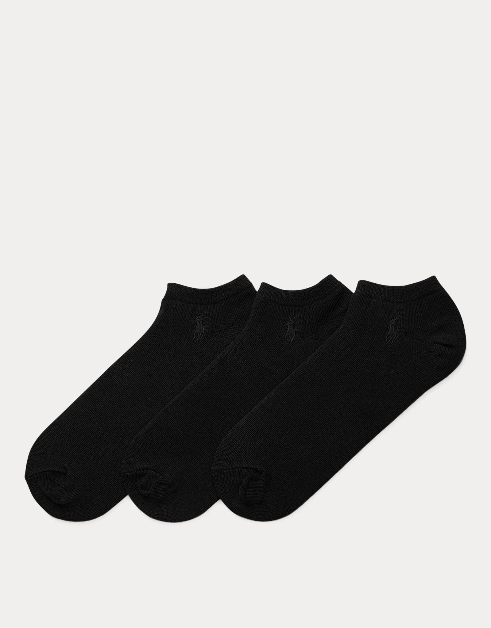Ralph Lauren 3-pack kousen zwart/blauw Ralph Lauren