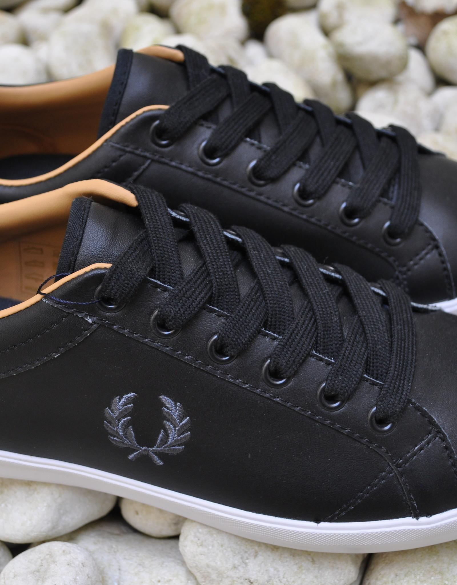 Fred Perry Sneaker Zwart