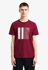 Fred Perry t-shirt grafisch logo print Fred Perry