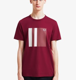 Fred Perry t-shirt print