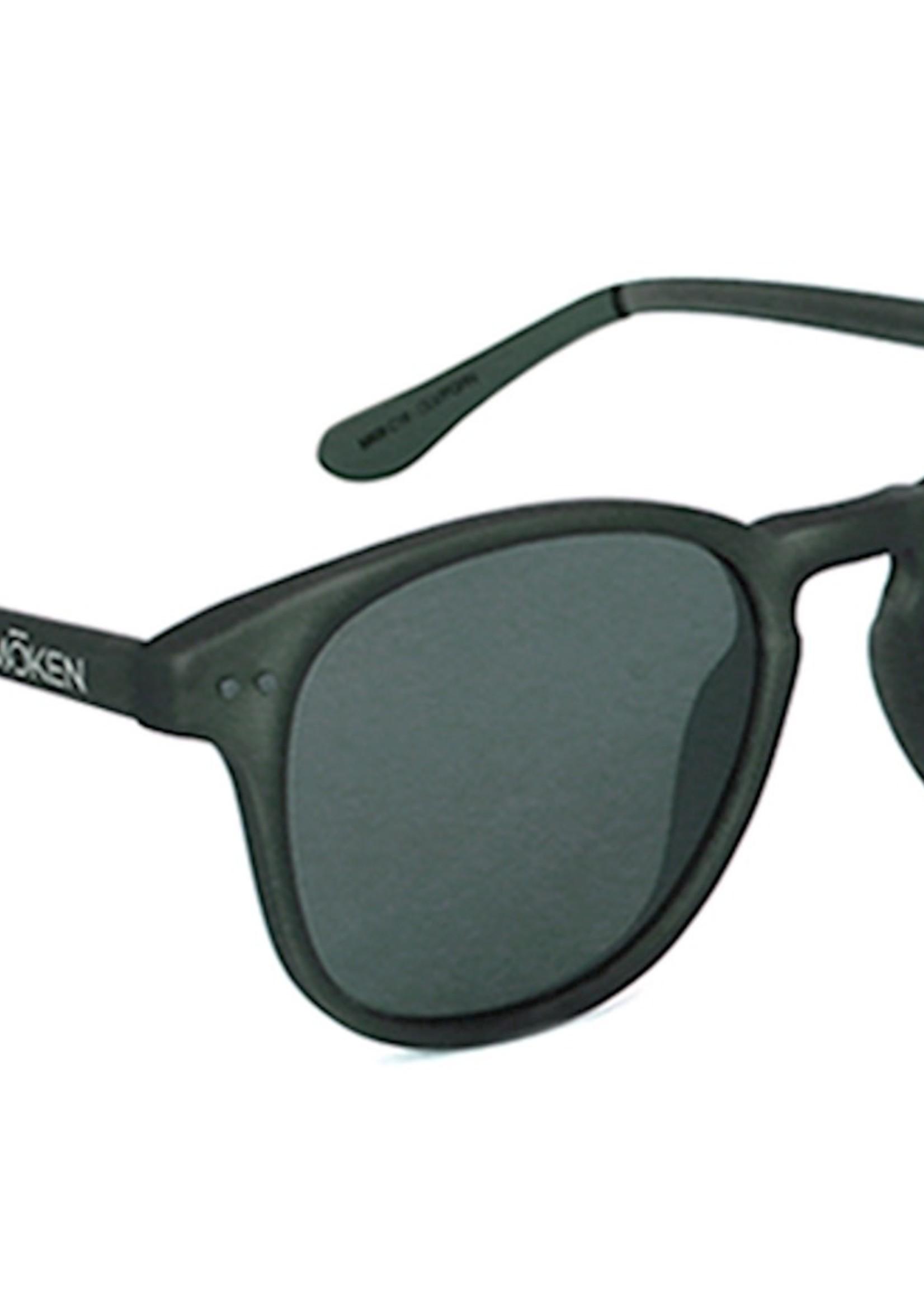 Mōken Enzo Olive Sunglasses