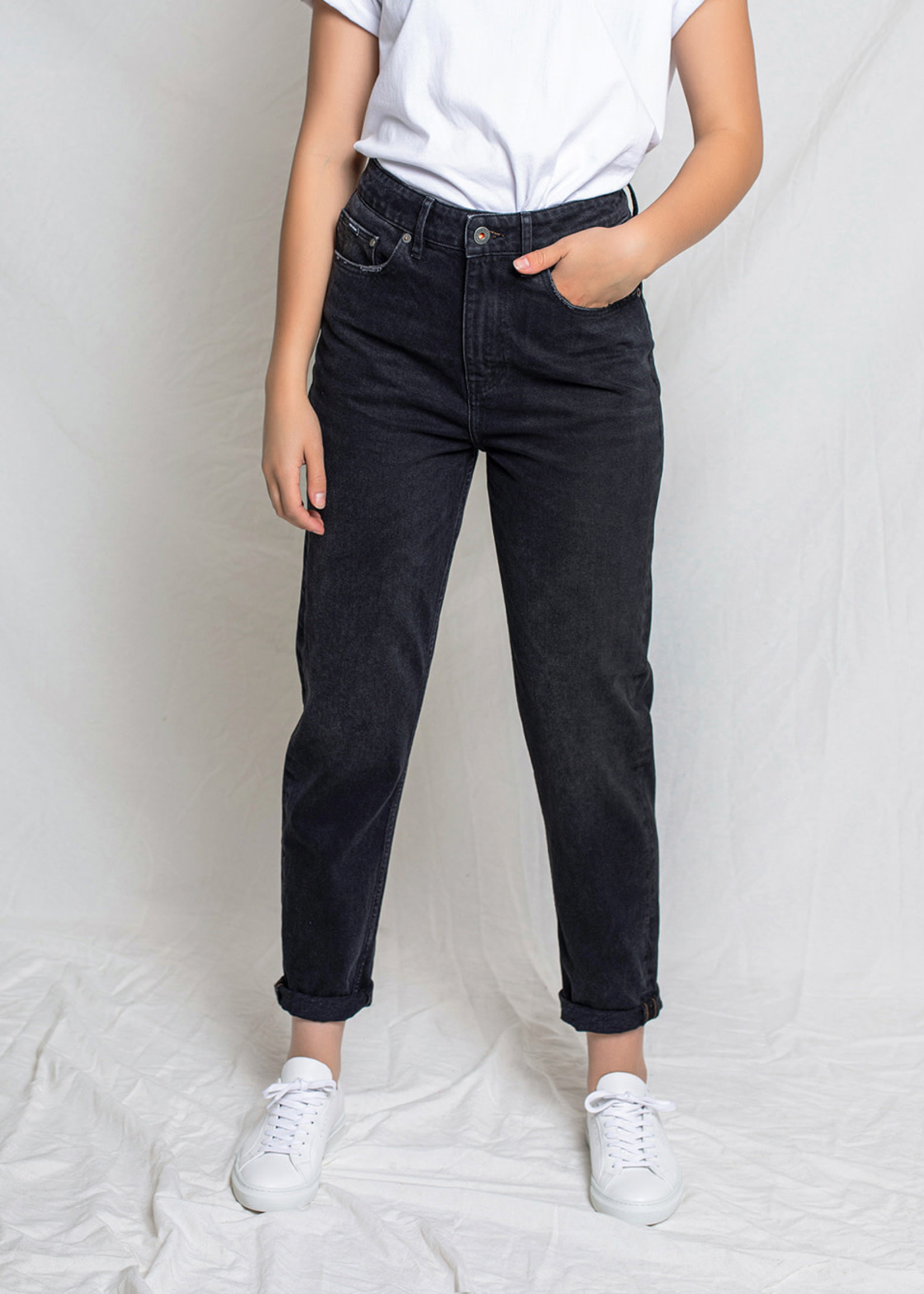 Kuyichi Nora mom jeans Vintage Black