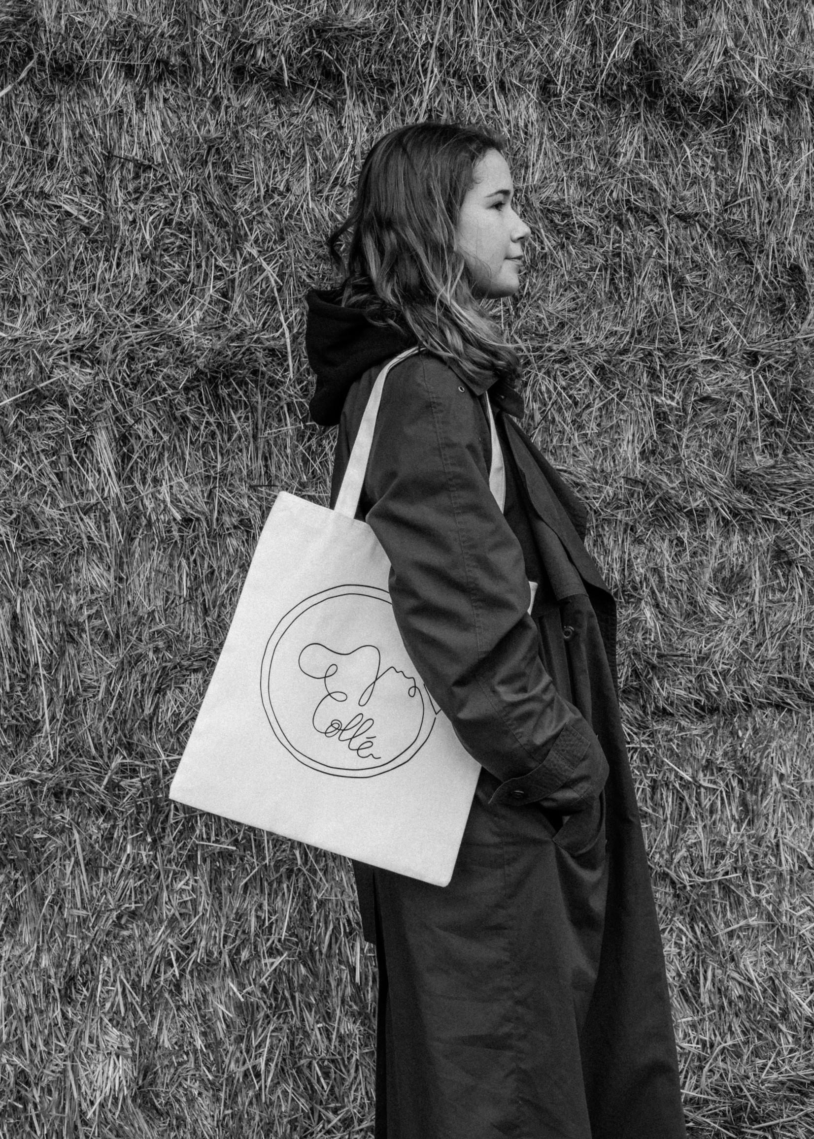 Collé Tote Bag