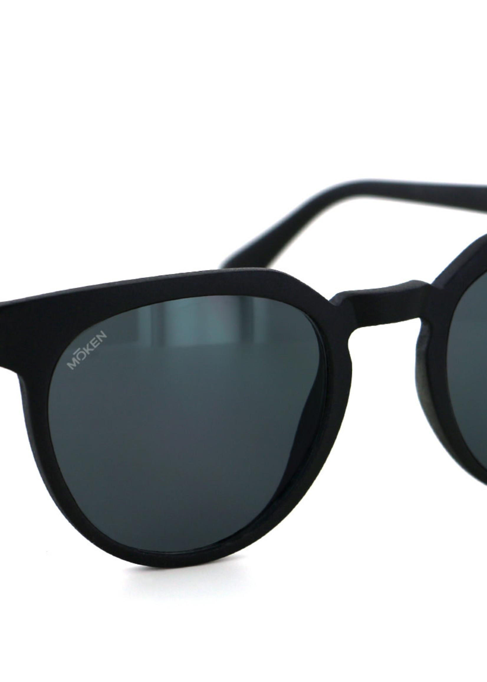 Mōken Bake Black Sunglasses