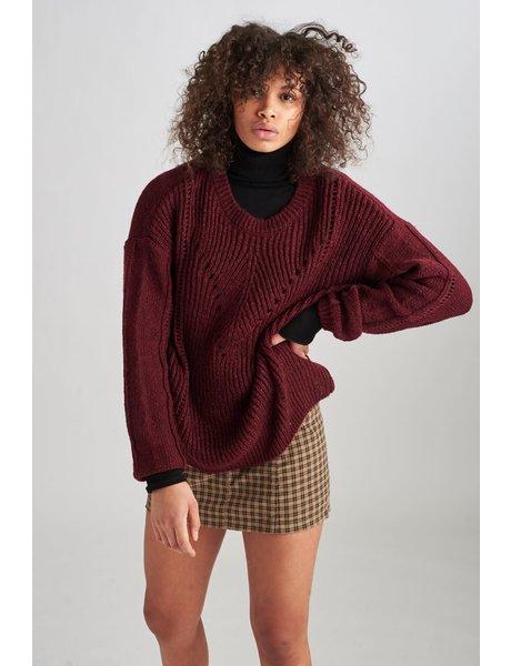 24Colours Cable Knit