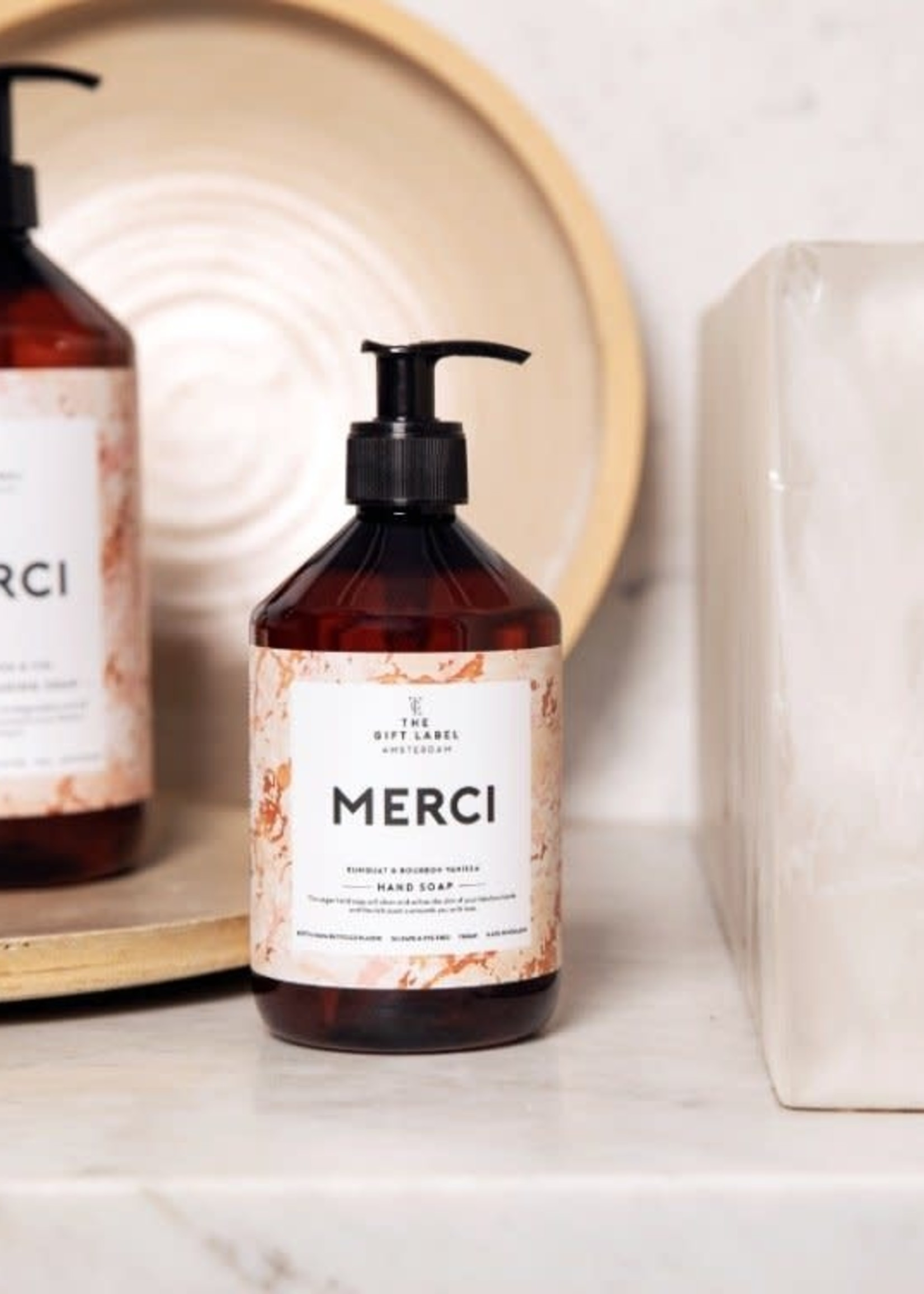 The Gift Label Hand Soap Merci