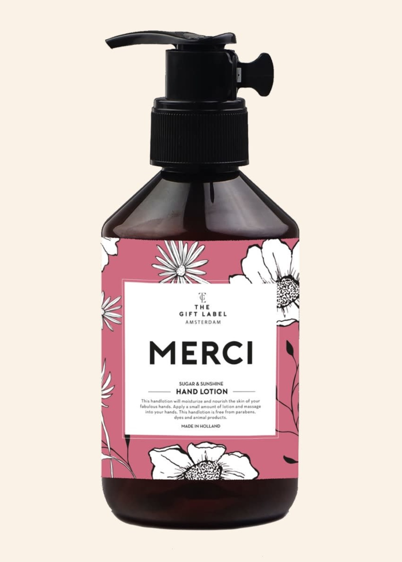 The Gift Label Hand Lotion Merci