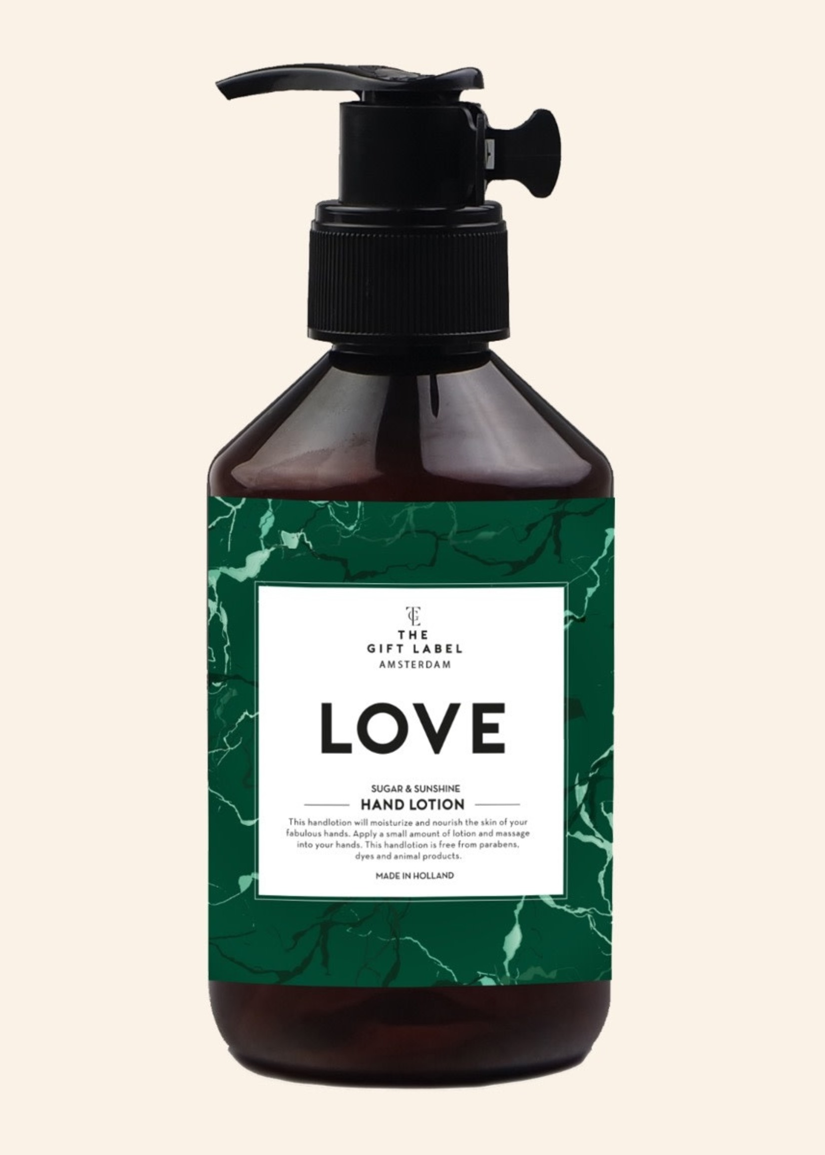 The Gift Label Hand Lotion Love