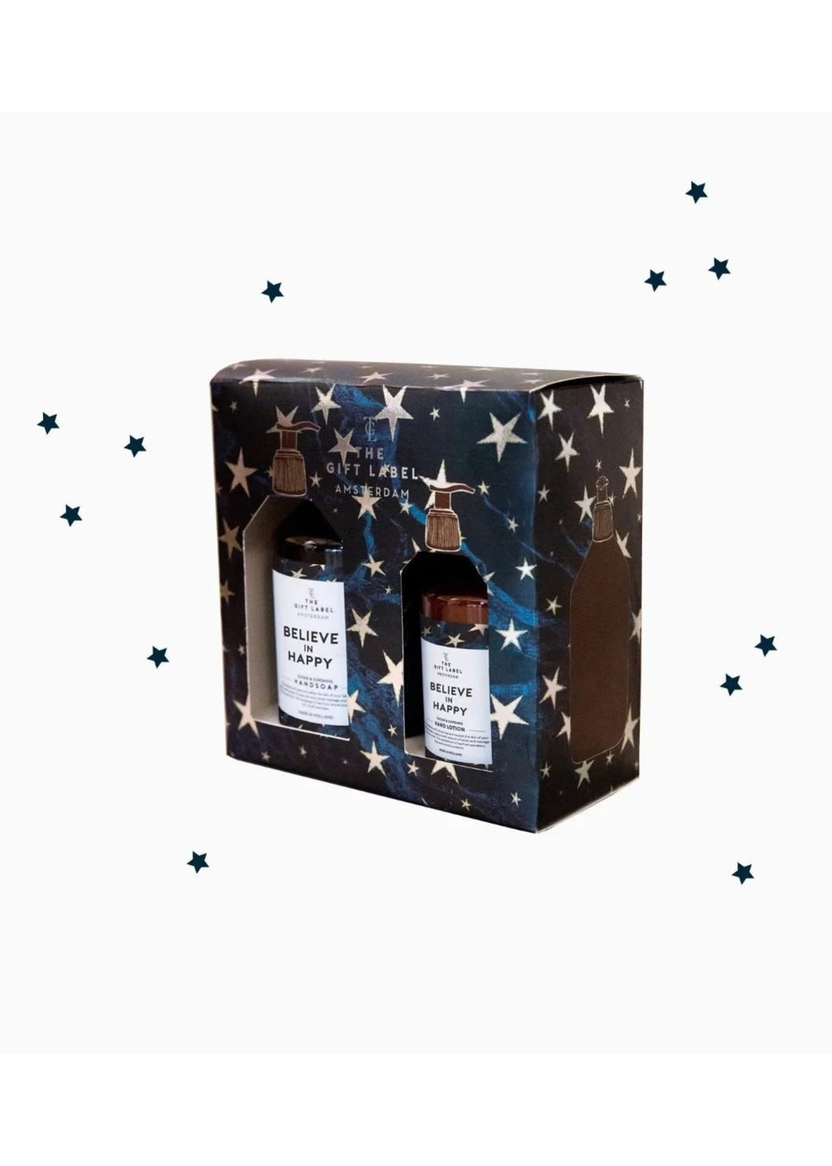 The Gift Label Believe In Happy Gift Box