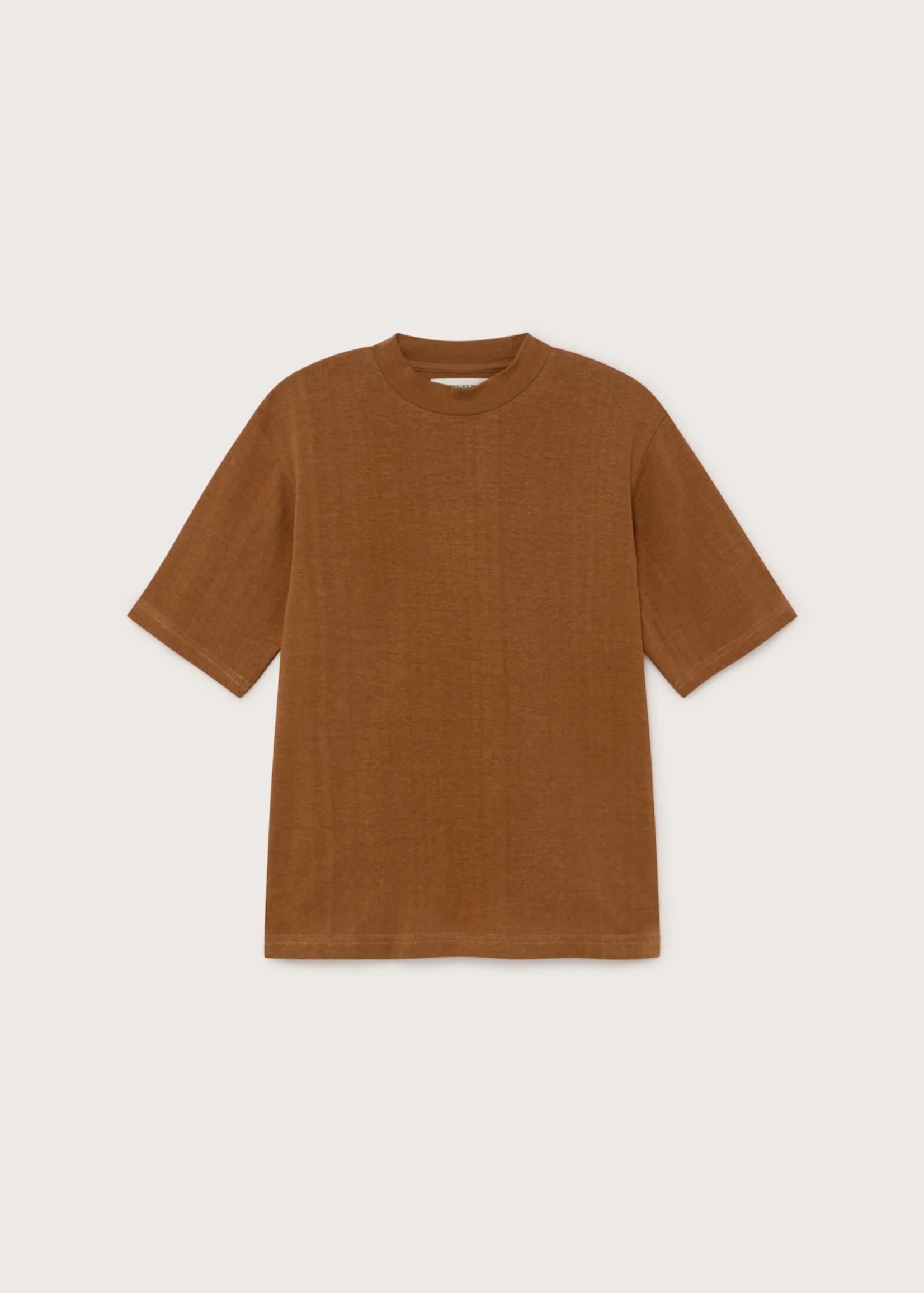 Thinking Mu Caramel Hemp Aidin T-shirt