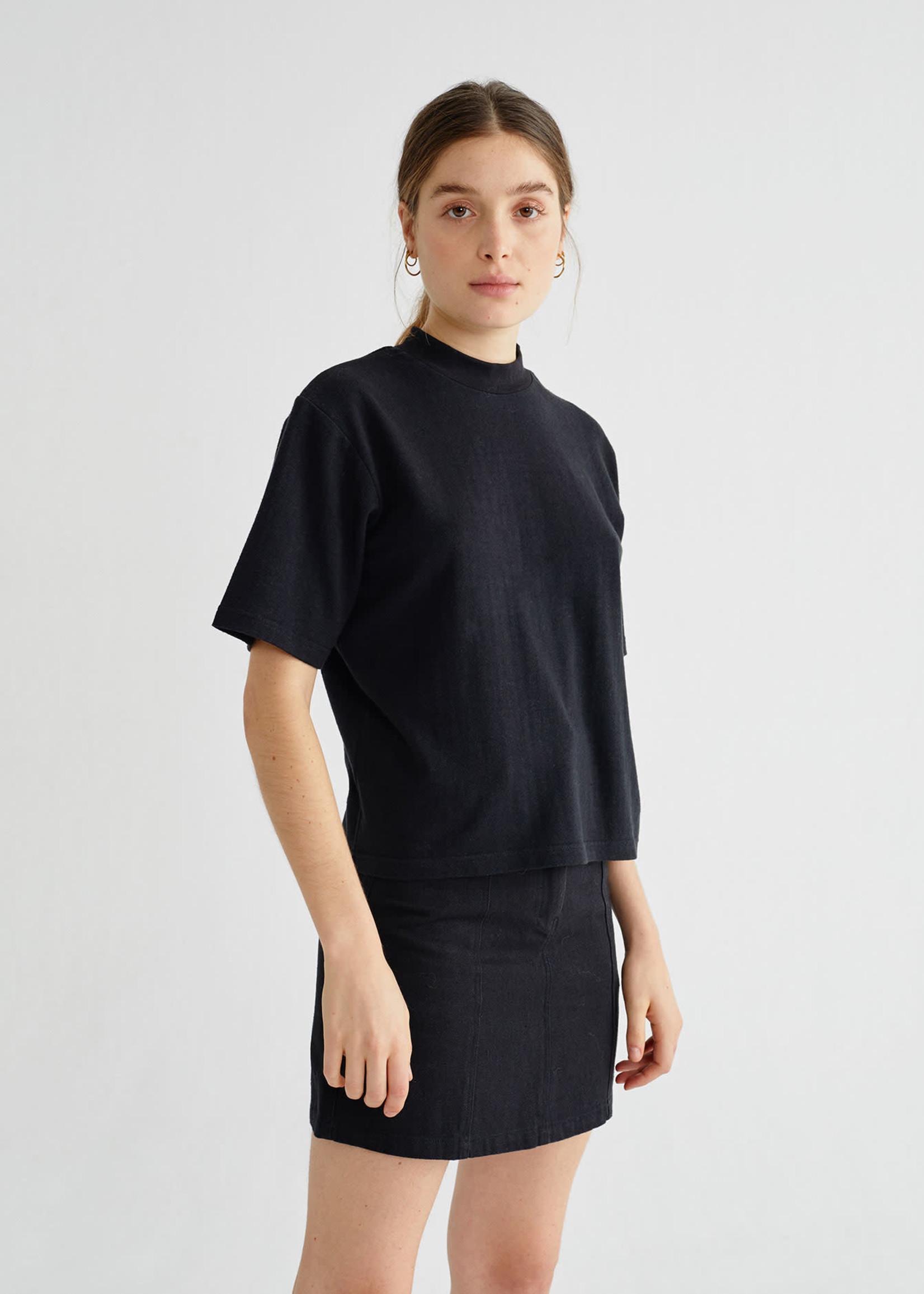 Thinking Mu Black Hemp Aidin T-shirt
