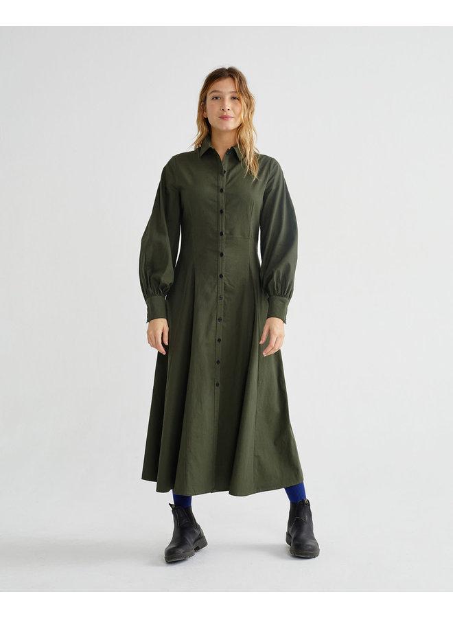 Green Freya Dress
