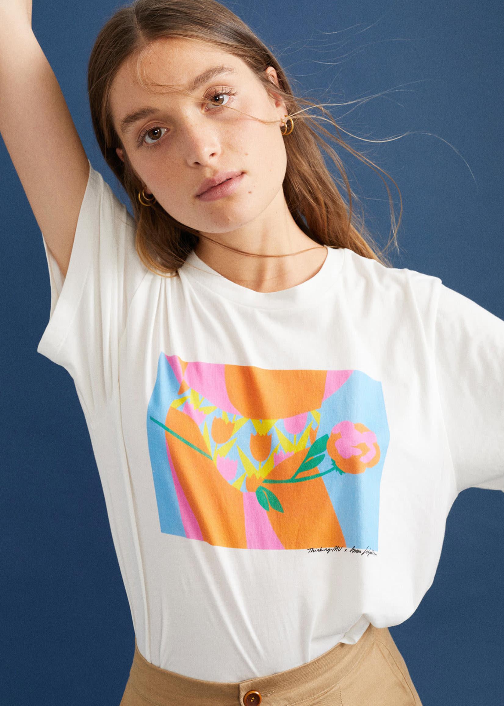 Thinking Mu Tulipan T-shirt