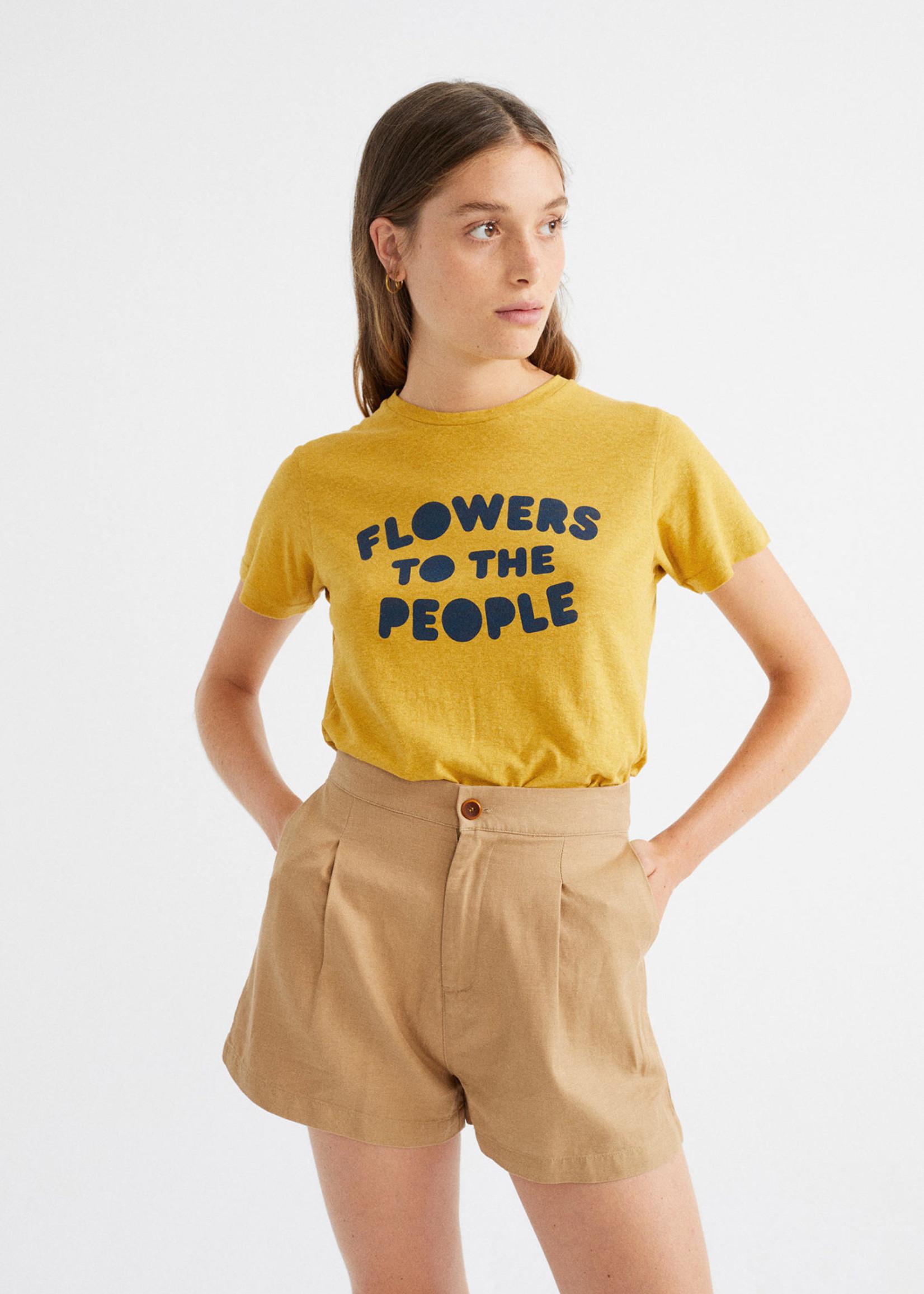 Thinking Mu Flowers To The Poeple T-shirt