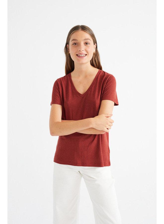 Teja Hemp Clavel T-shirt