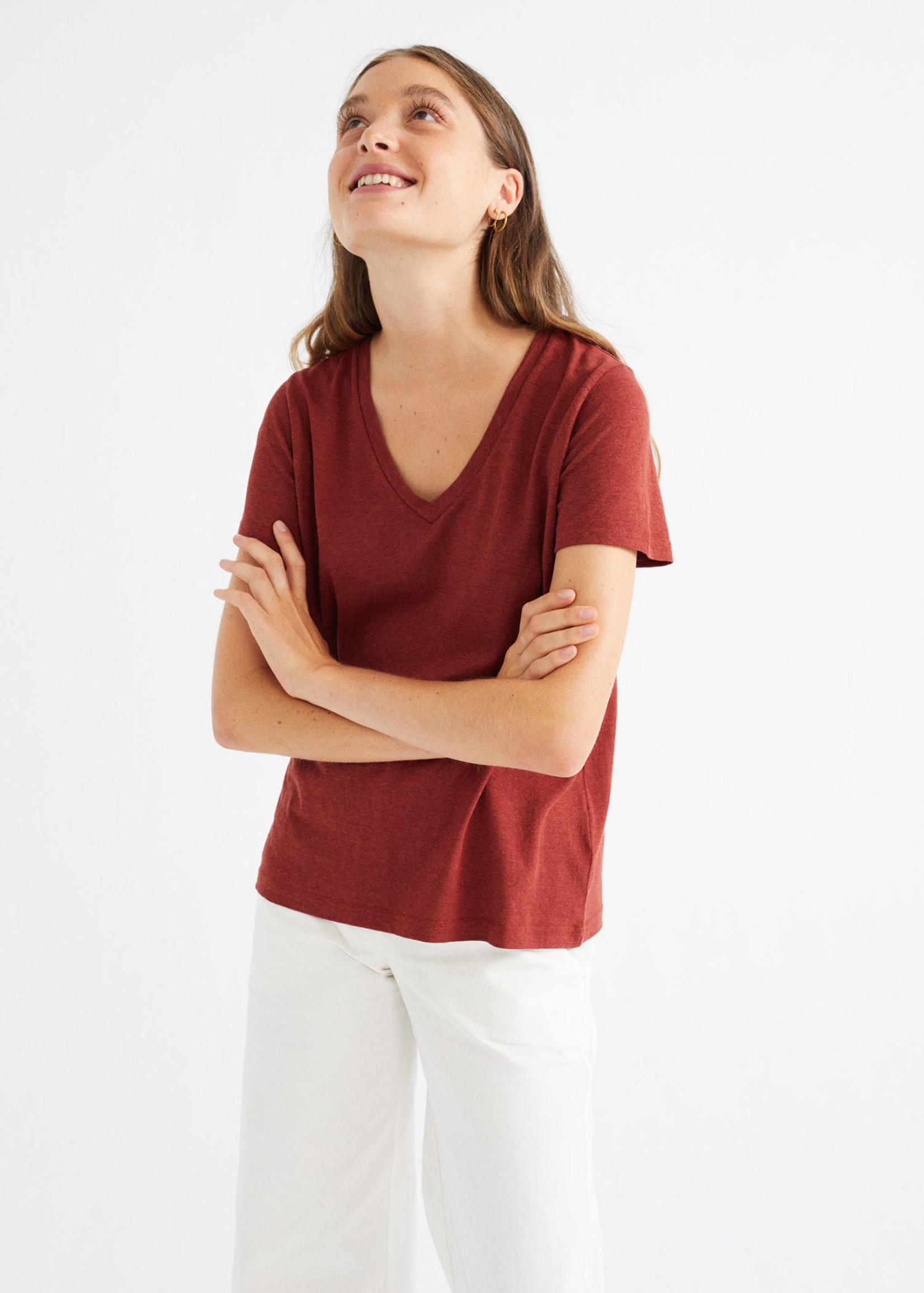Thinking Mu Teja Hemp Clavel T-shirt