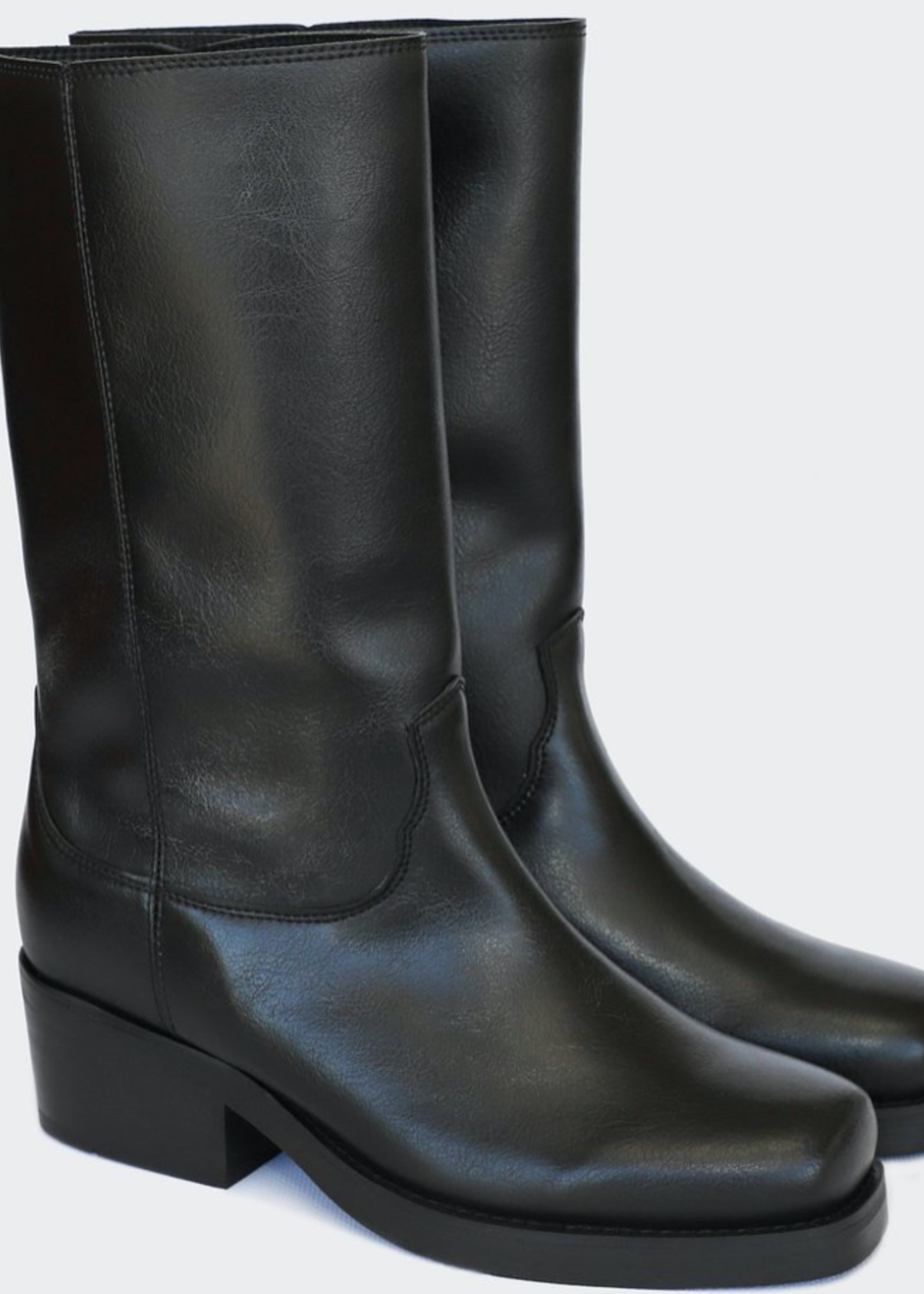 Good Guys Don't Wear Leather Willie High Top Motorcycle Boots