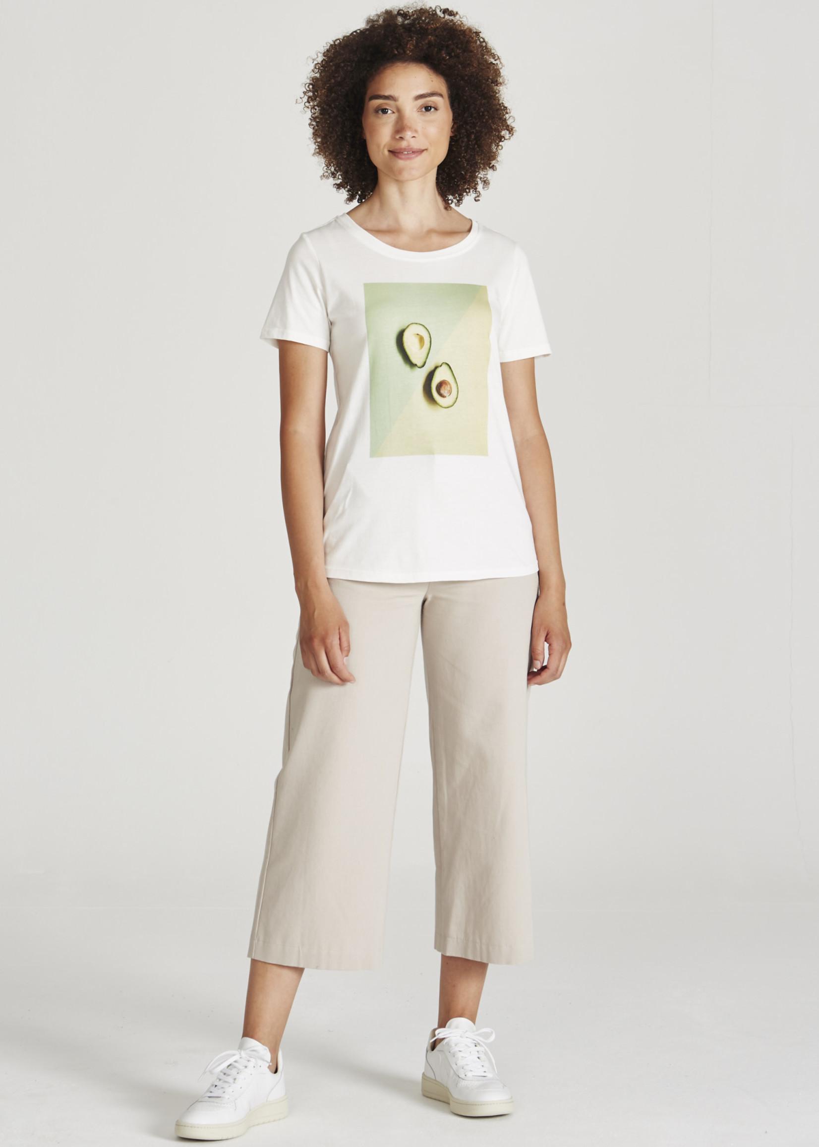 Givn Lena T-shirt (avocado print)