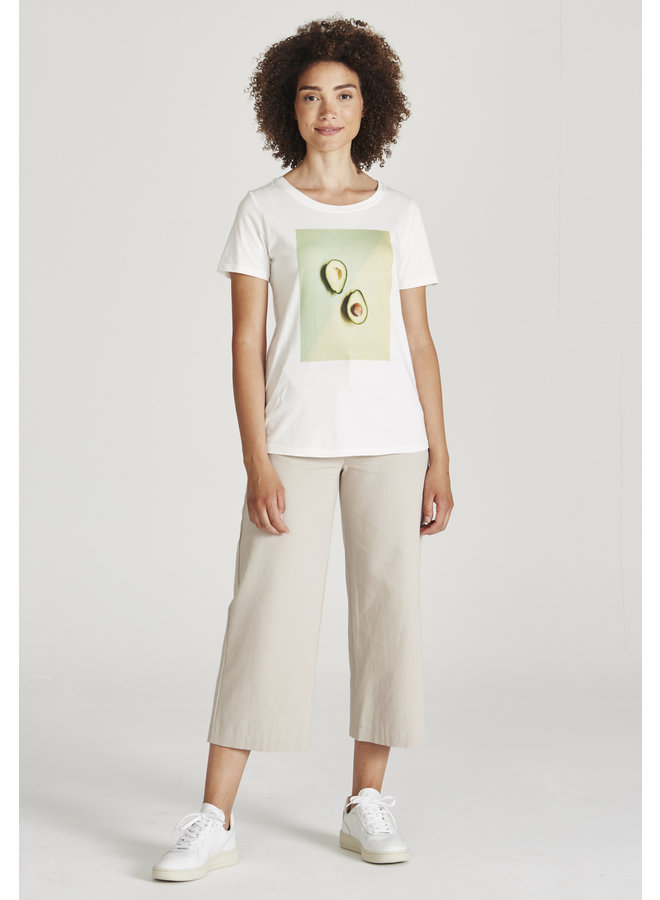 Lena T-shirt (avocado print)