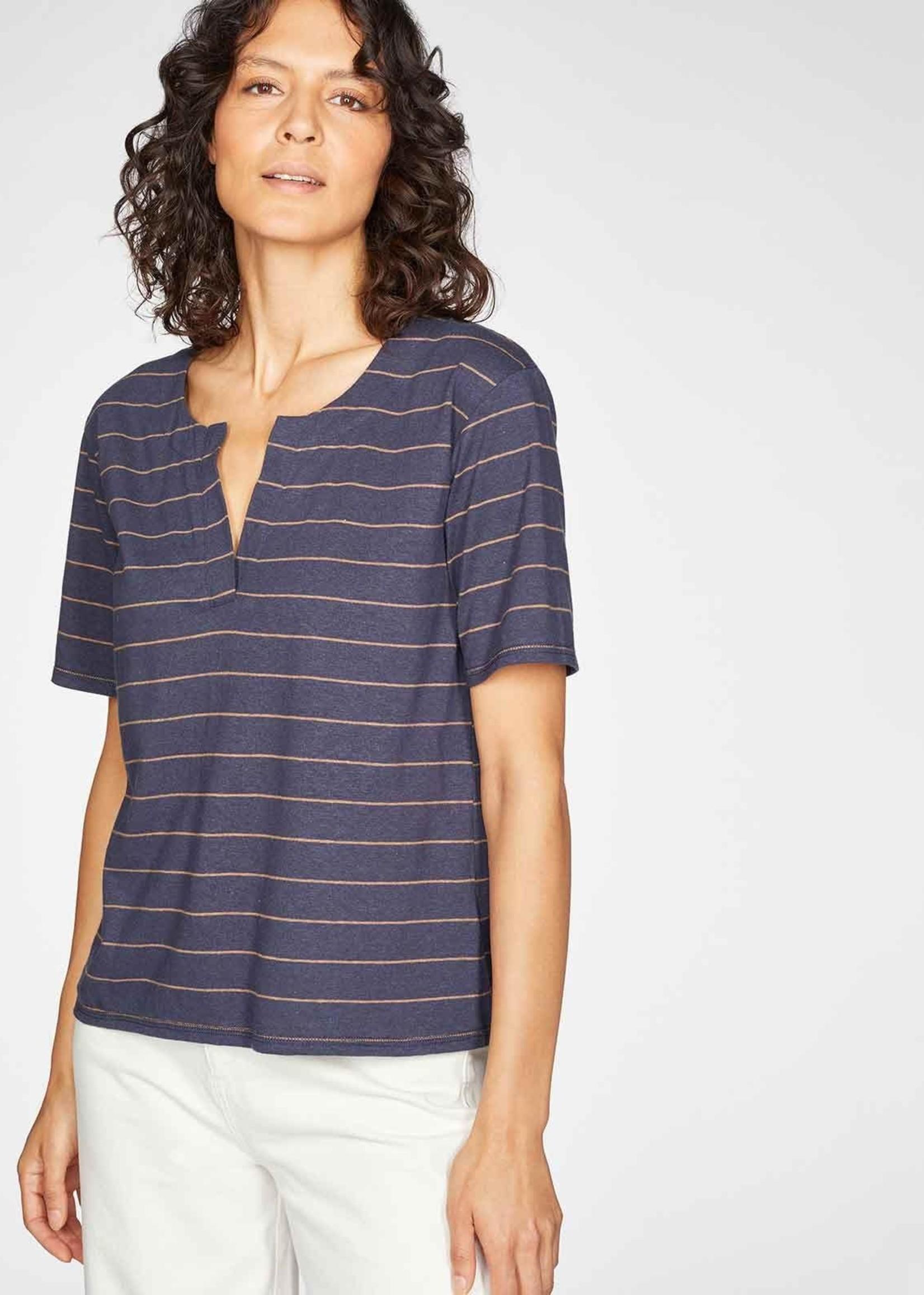 Thought Cecilia Hemp Organic Cotton Striped Jersey