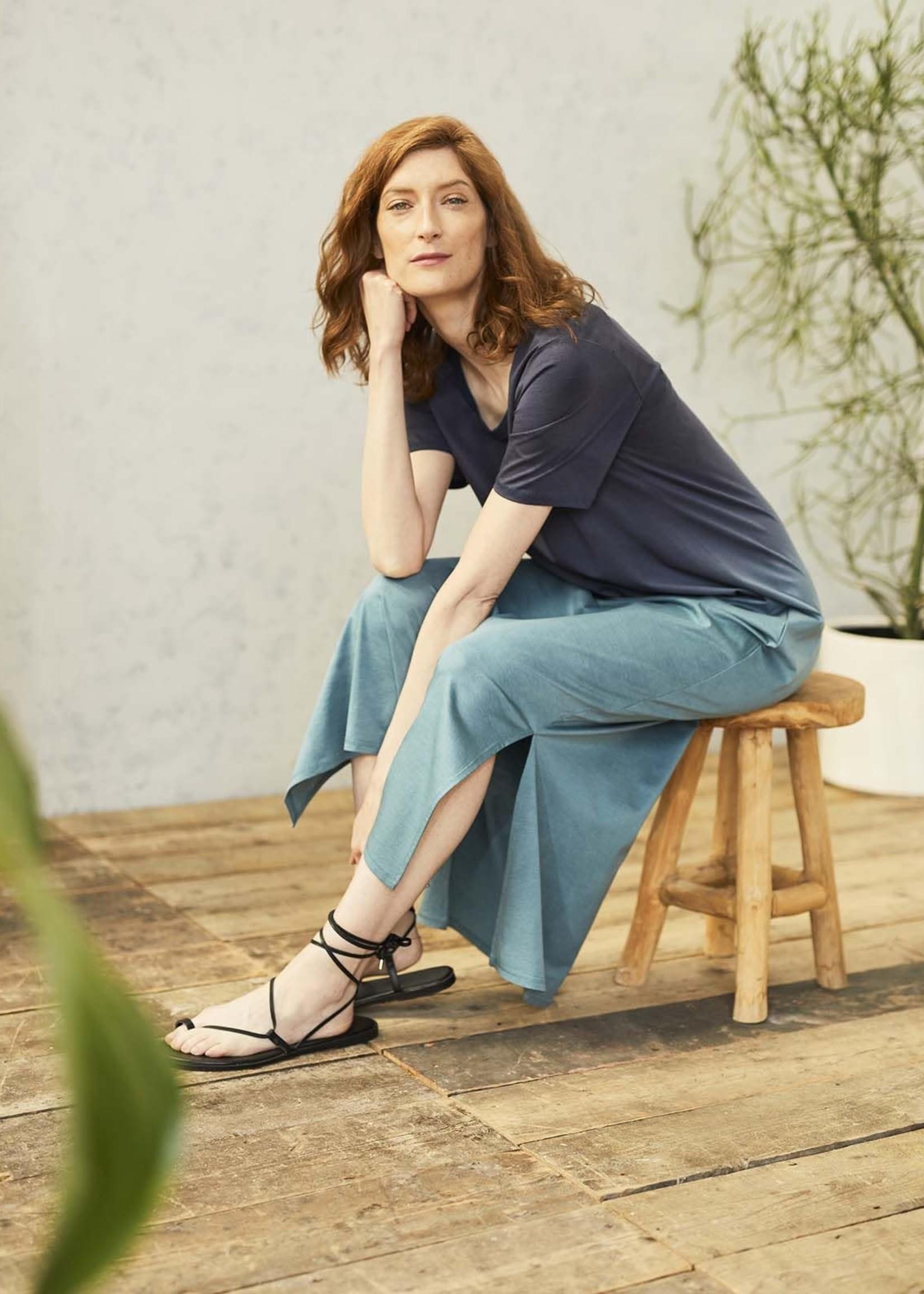 Thought Eliana Dip Dye Tencel™ Organic Cotton Jersey Maxi Dress