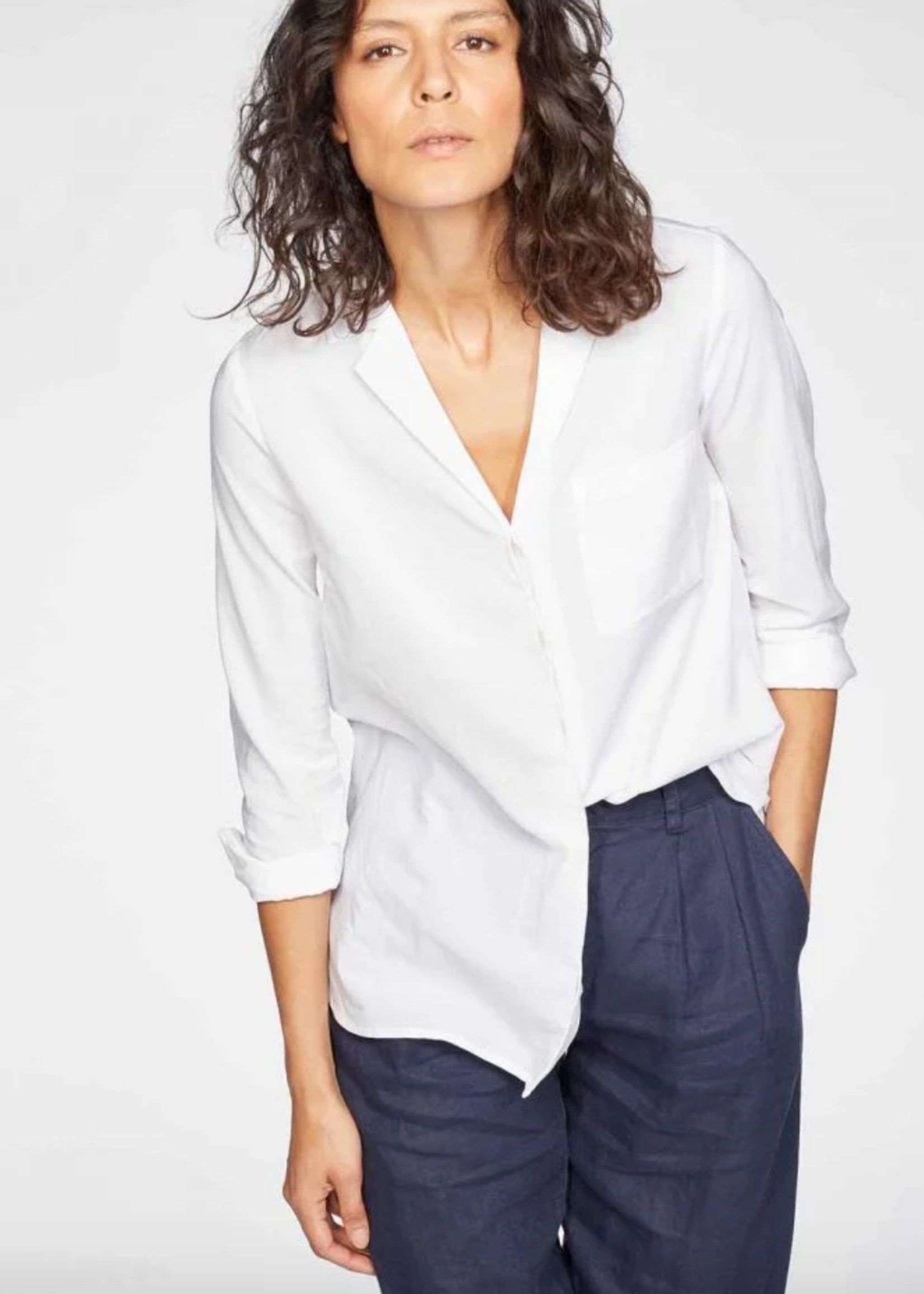 Thought Mia Organic Cotton Modal Woven Shirt