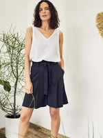 Thought Amorette Tie Waist Tencel™ Bamboo City Shorts