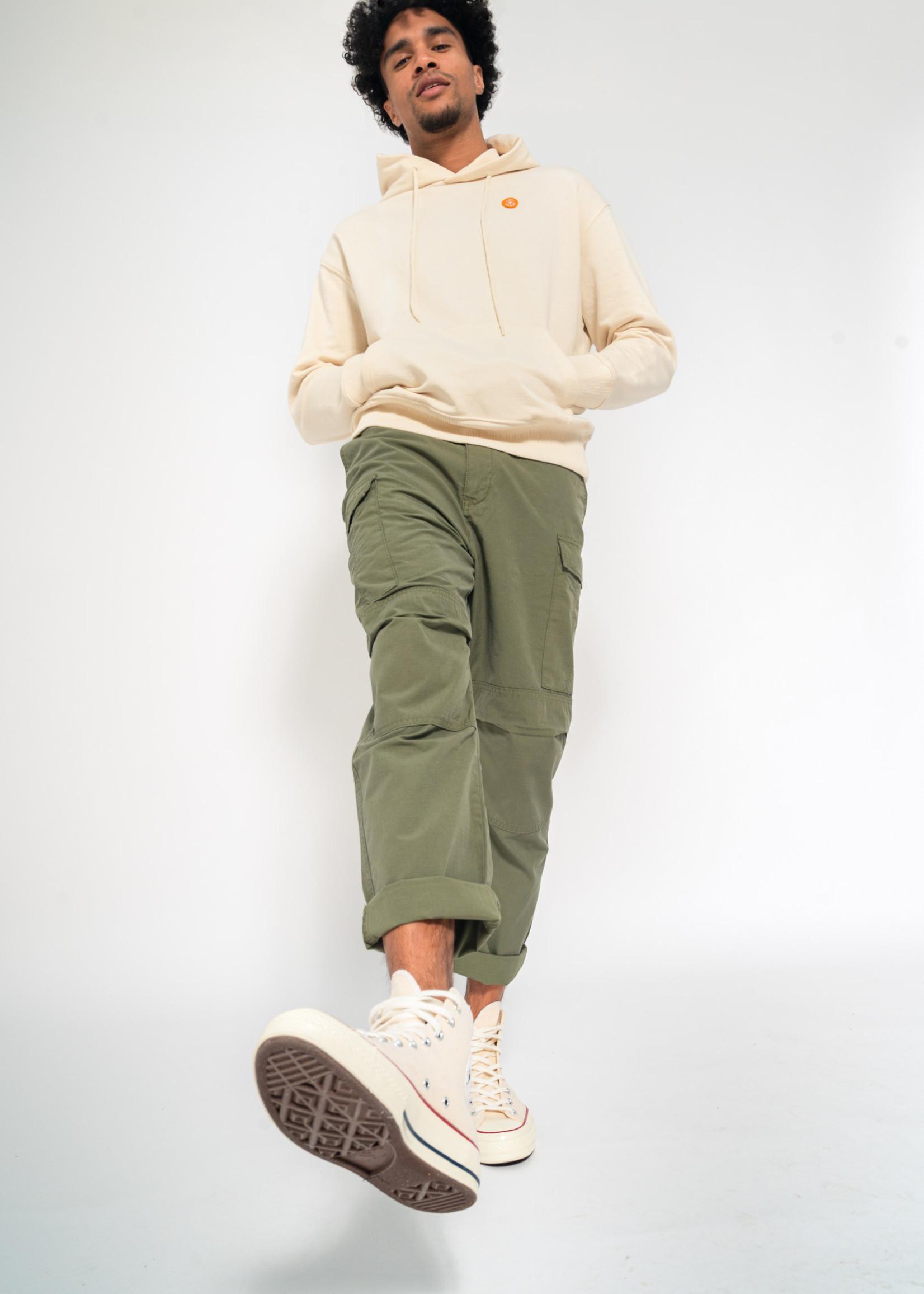 Kuyichi Brandon Worker Army Green