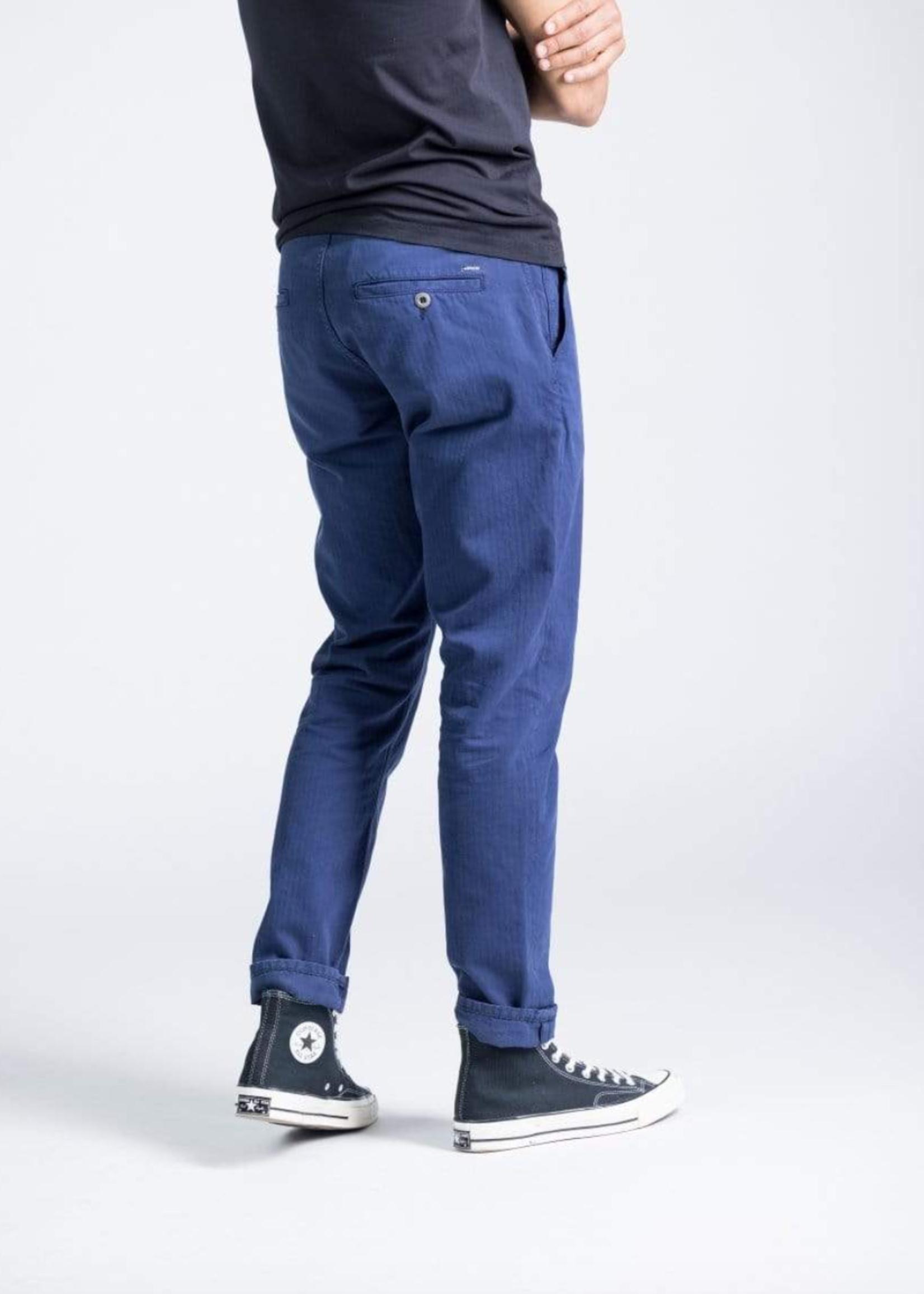 Kuyichi Dexter Chino Regular Tapered Worker Blue